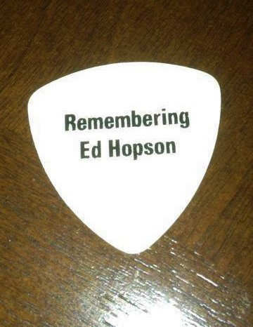 Tribute Buddy Black Guitar Pick
