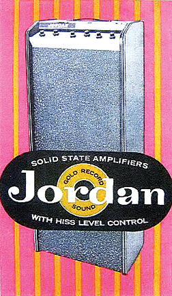 Jordan SS amp 2-12 model