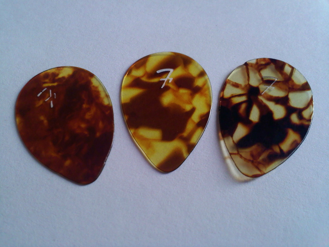 Early Guitar Picks