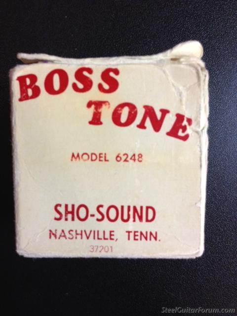 Sho-Bud Boss tone