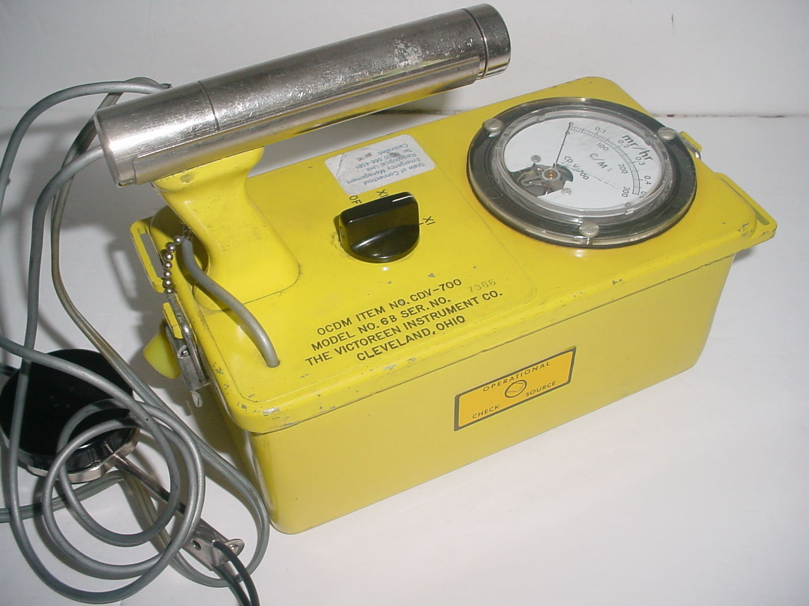Victoreen Geiger Counter