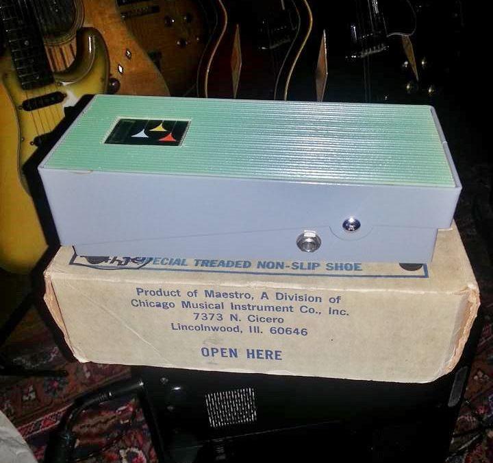 Gibson Maestro Volume Wha Green Pedal
